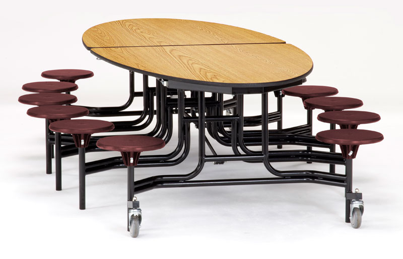 mets-mdpepc-elliptical-mobile-stool-cafeteria-table-mdf-top-w-protectedge