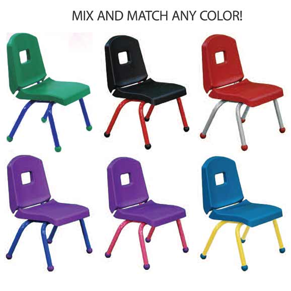 Mahar Creative Colors Stack Chair 10 H 10chr