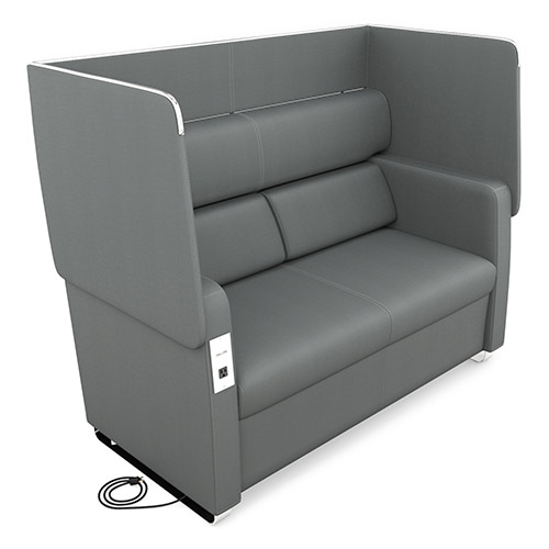 Ofm Morph Series Privacy Sofa 2202 Reception Amp Waiting