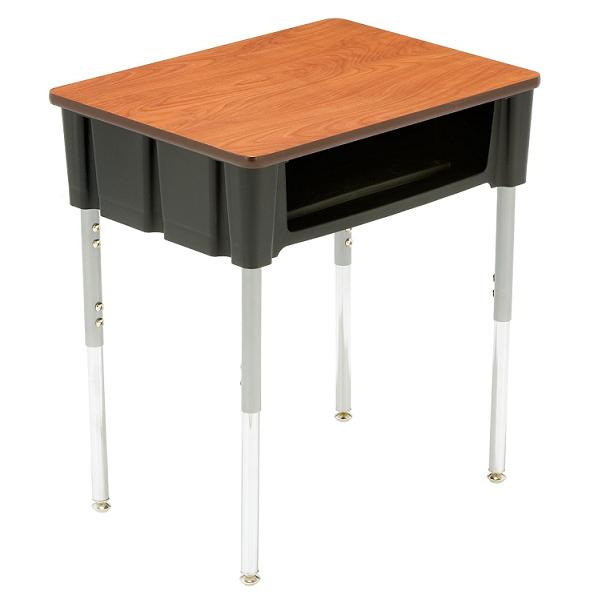 3200pcsp-natural-elements-ovation-open-front-desk-w-solid-plastic-top
