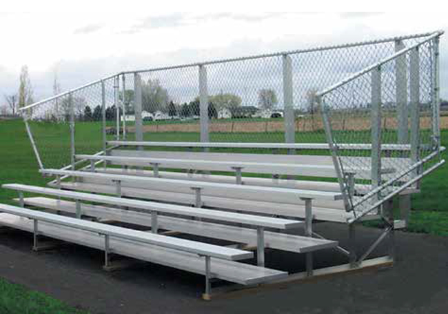 nb-0524avpprf-5-row-preferred-bleacher-with-vertical-picket-guardrail-double-foot-plank-80-seats