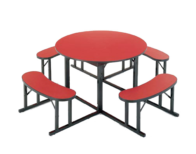 round-cafeteria-bench-tables-by-barricks