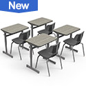 Shop all Student Desks + School Chair Classroom Sets