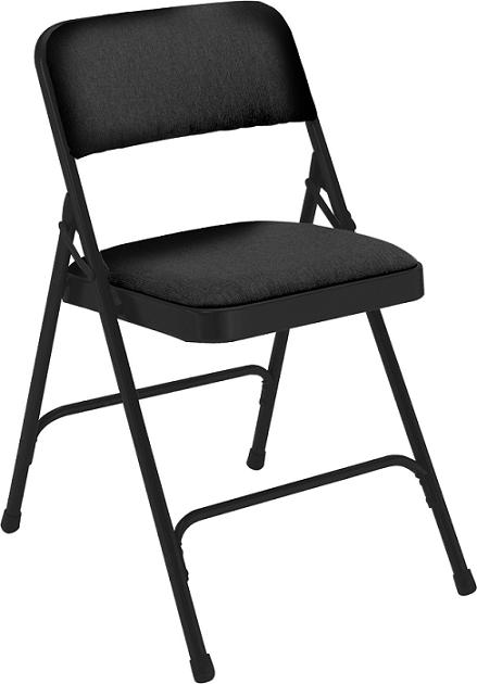 2210-padded-folding-chair-w-double-hinge--black-fabric-w-black-frame