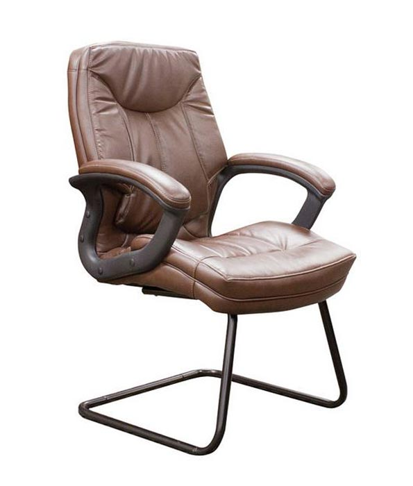 Ofd office furniture ofd 7200 faux leather sled base guest chair