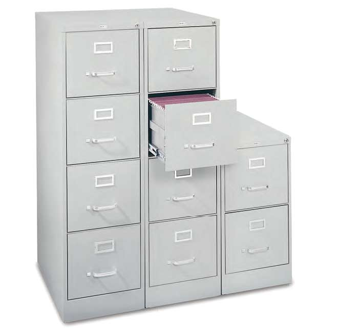 new styles 9ae39 3e2b3 Letter Vertical Steel File Cabinet- 2 Drawer