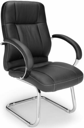 518lx-sled-base-faux-leather-guest-chair