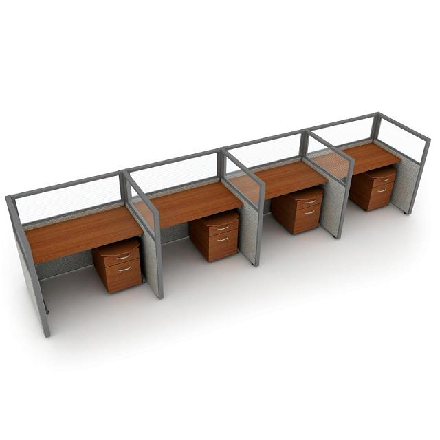 t1x44748v-rize-series-privacy-station-1x4-configuration-w-full-vinyl-47-h-panel-4-w-desk