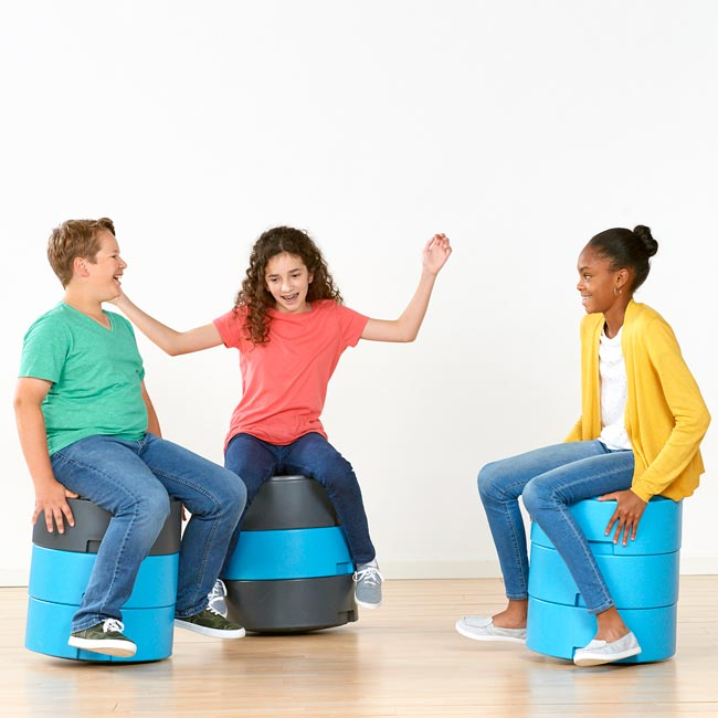 Oodle Wobble Stools from Smith System