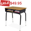 Click to see all Open Front School Desks