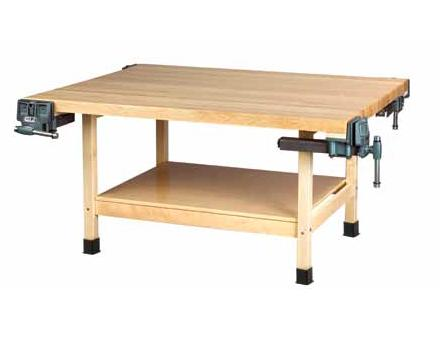 ww4-2v-wooden-four-station-student-workbench-w-2-vises