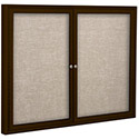 Click here for more Outdoor Enclosed Bulletin Board w/ Coffee Frame by Best-Rite by Worthington