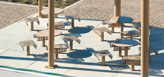 Business Plaza with Hamilton Outdoor Tables