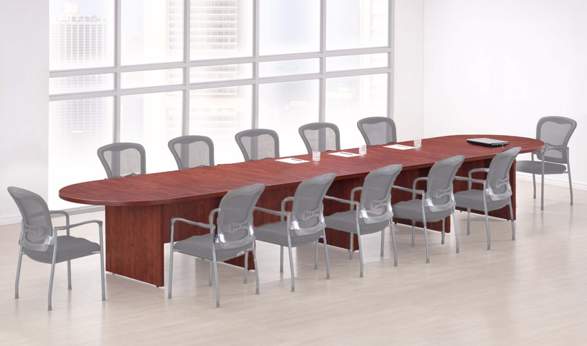 Ndi Office Furniture Pl18kit Racetrack Conference Table