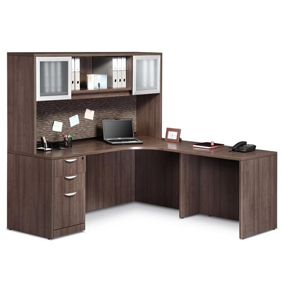 Pl24 Executive L Shaped Desk