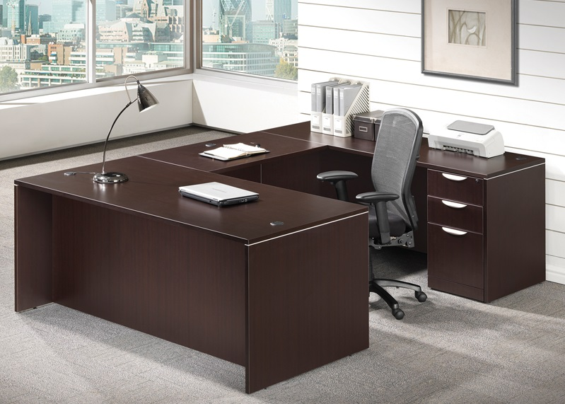 timeless design 9be1f 5f858 Executive U-Shaped Desk