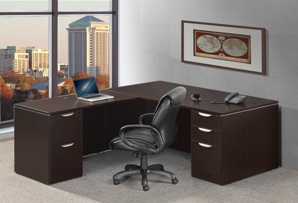 Swell Classic Series L Shaped Desk Home Interior And Landscaping Ologienasavecom