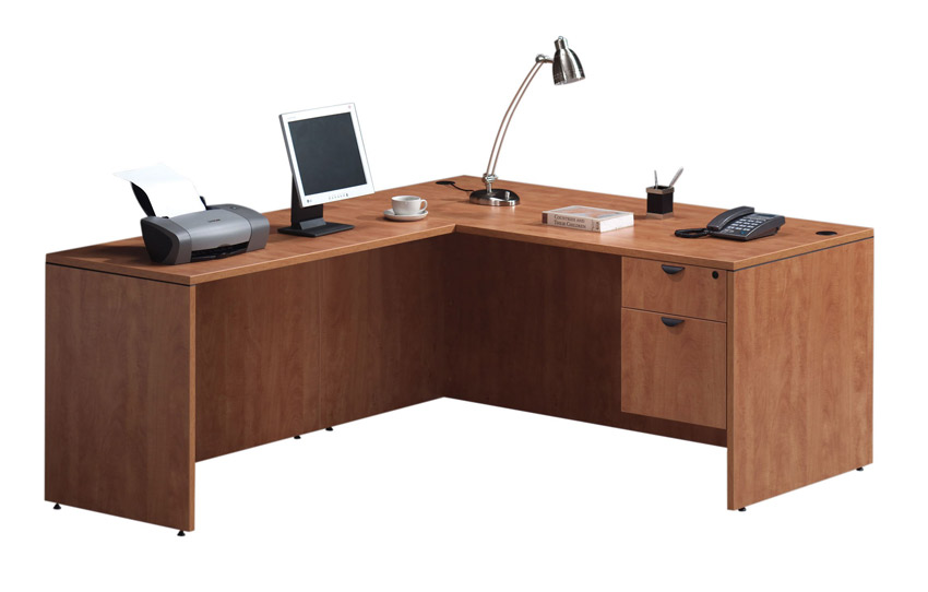 Ndi Office Furniture Executive L-Shaped Desk - Pl36 | L ...