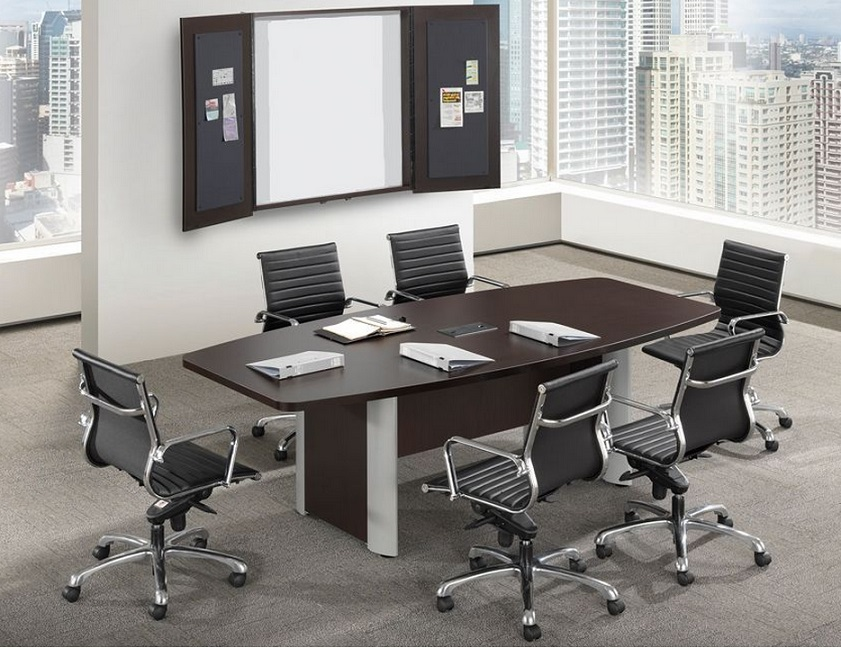 Ndi Office Furniture Pl8be Boat Shape Conference Table W Elliptical Base