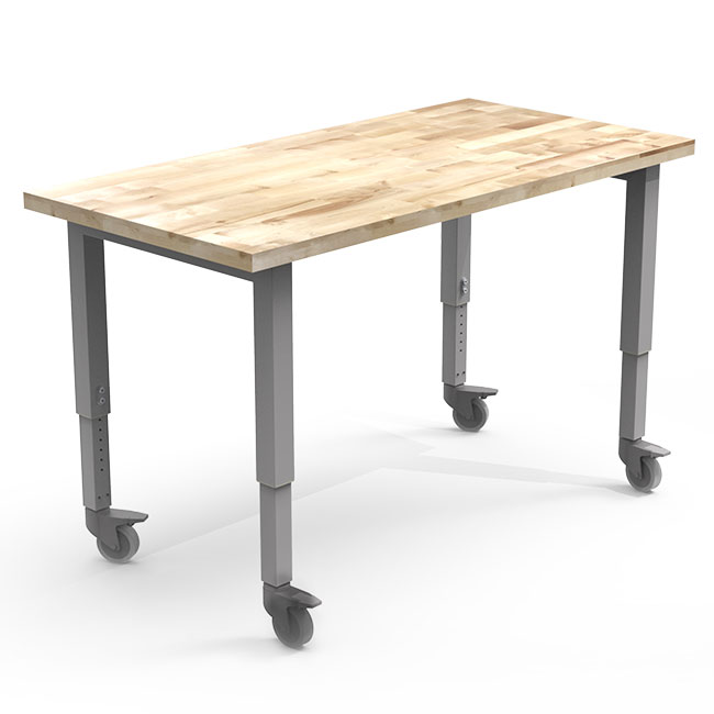 adjustable-butcher-block-top-planner-studio-tables-by-smith-system