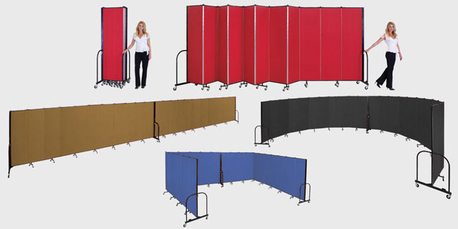 Screenflex Portable Partitions