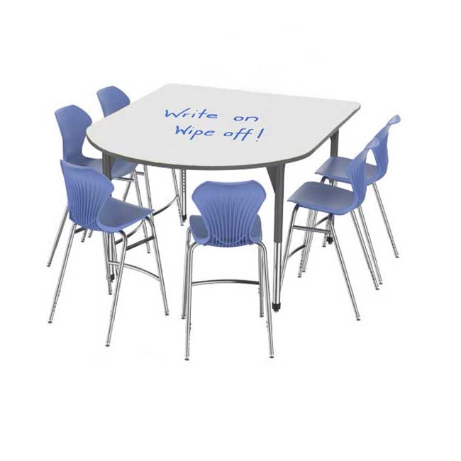 premier-standing-height-dry-erase-multimedia-table-and-apex-stack-chair-package-by-marco-group