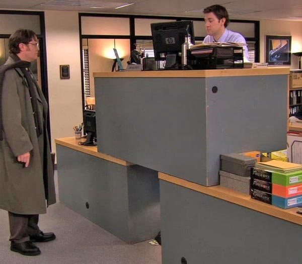 Quad Desk vs Megadesk from The Office