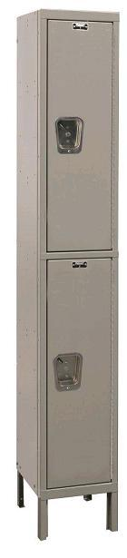 maintenance-free-quiet-double-tier-1-wide-lockers-by-hallowell