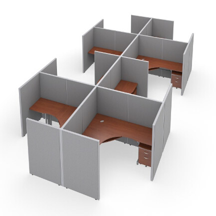 r2x46372v-rize-series-cubicle-2x4-configuration-w-full-vinyl-63-h-panel-6-w-desk