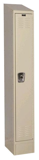 urb1228-1asb-readybuilt2-single-tier-1-wide-lockers-w-slope-top---locks--12-w-x-12-d-x-72-h