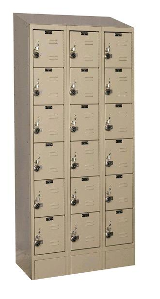 urb3258-6asb-readybuilt2-six-tier-3-wide-lockers-w-slope-top---locks--12-w-x-15-d-x-12-h