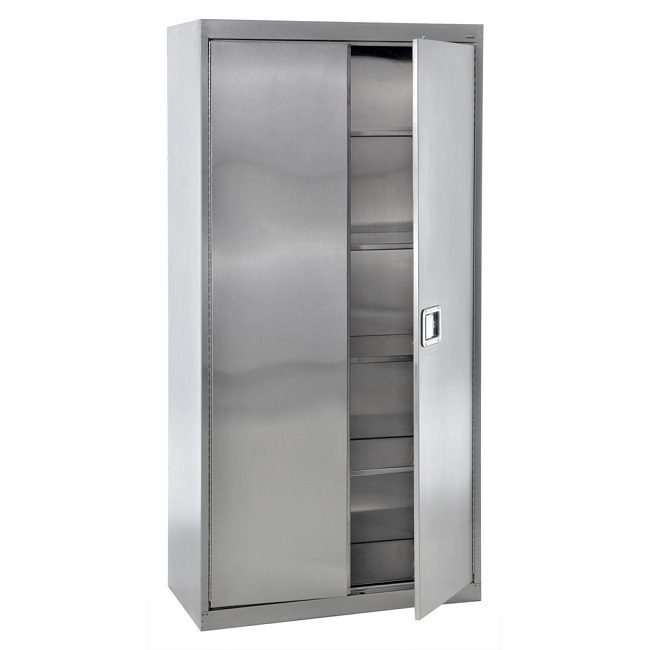 sa4d361872-stainless-steel-storage-cabinet-w-paddle-lock-36-x-18-x-72