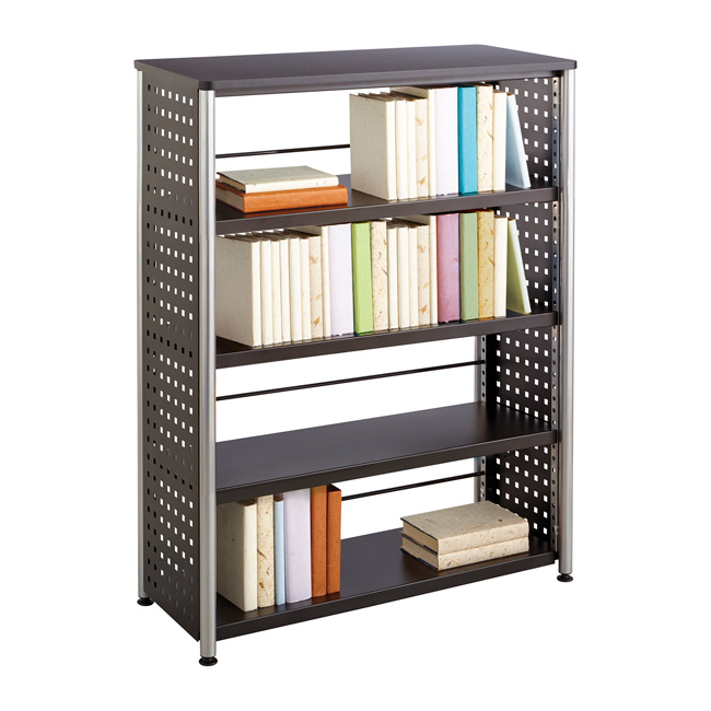 1603bl-scoot-4-shelf-bookcase
