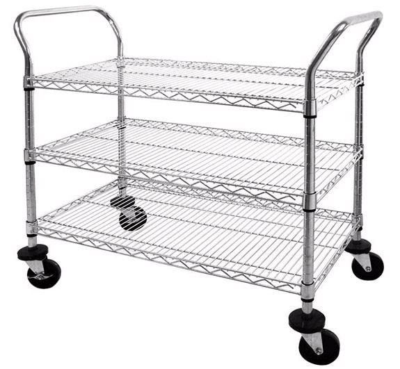 mws482438-chrome-wire-shelf-cart-24-x-48