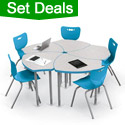 Shop all Classroom Desk & Chair Packages