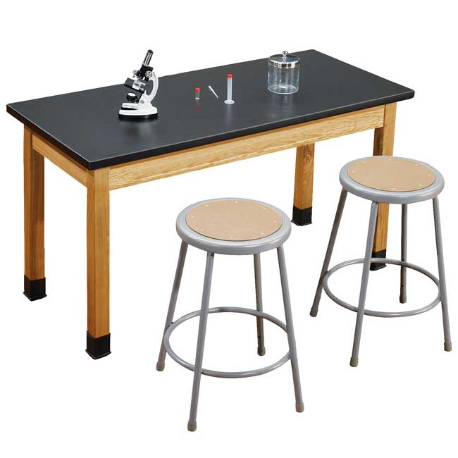 slt24542-6218-one-acid-resistant-science-lab-table-two-18-gray-stools-54-x-24