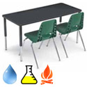 Planner Trespa TopLab Plus Science Table by Smith System