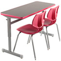 Click here for more Silhouette Double Student Desk by Smith System by Worthington