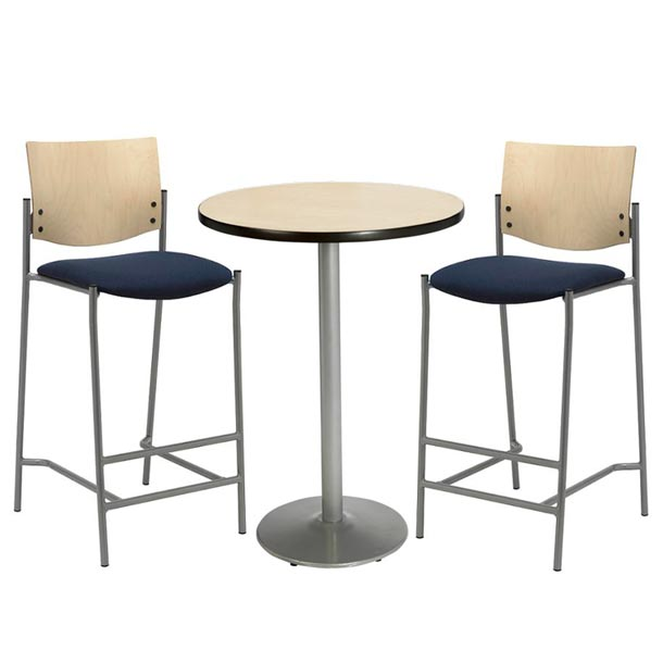 silver-base-bar-height-cafe-table-with-two-br1310-barstools-by-kfi