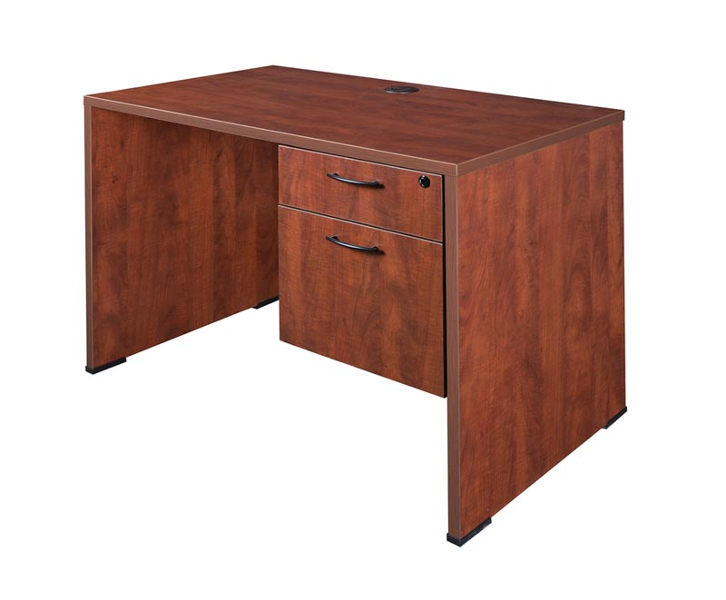 "Regency Office Furniture Single Pedestal Desk (60""W X 30 ..."