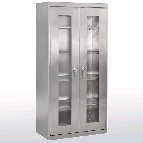 stainless-steel-clear-view-storage-cabinet-by-sandusky-lee