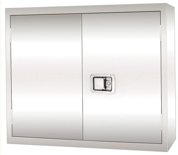 """stainless steel wall cabinet w/ paddle lock (30"""" x 12"""" x 30"""")"""