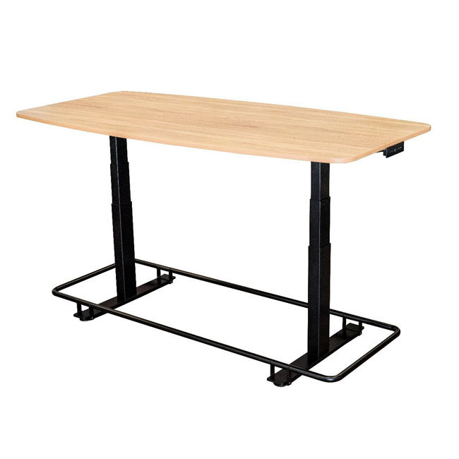 standect72wo-electric-height-adjustable-conference-table-with-footrest-bar
