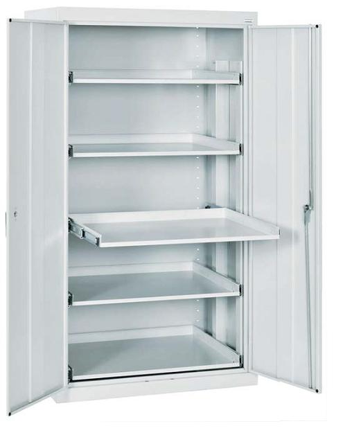 Sandusky lee et52362466 00ll storage cabinet w pull out for Shelves and cabinets