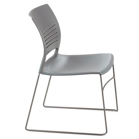 Ki Strive Stack Chair Swna Plastic Stacking Chairs Worthington