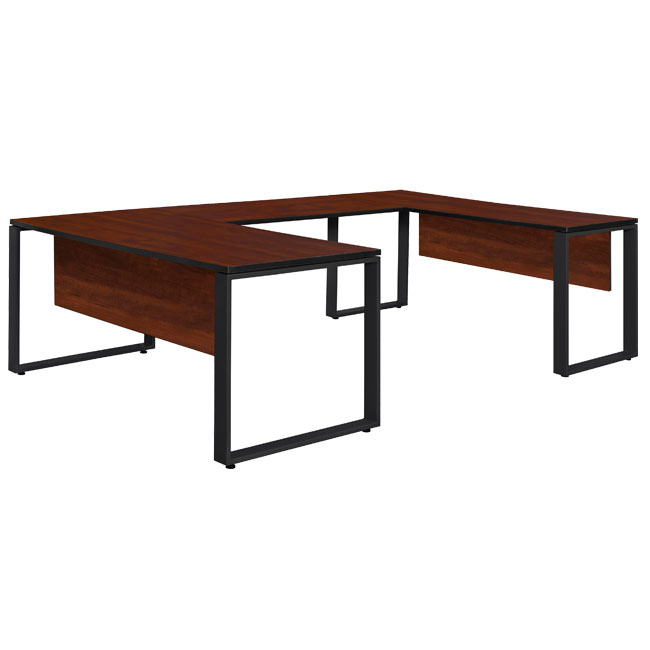 studs663048-structure-u-desk-with-48-bridge-66-w-x-30-d
