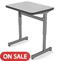 Click here for more Overstock Sale- Silhouette Single Student Desk by Smith System by Worthington