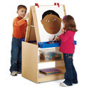 Click here for more 2 Student Easel by Jonti-Craft by Worthington