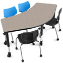 Interchange Crescent Table by Smith System