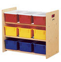 9 Tray Tote Storage Rack by Jonti-Craft